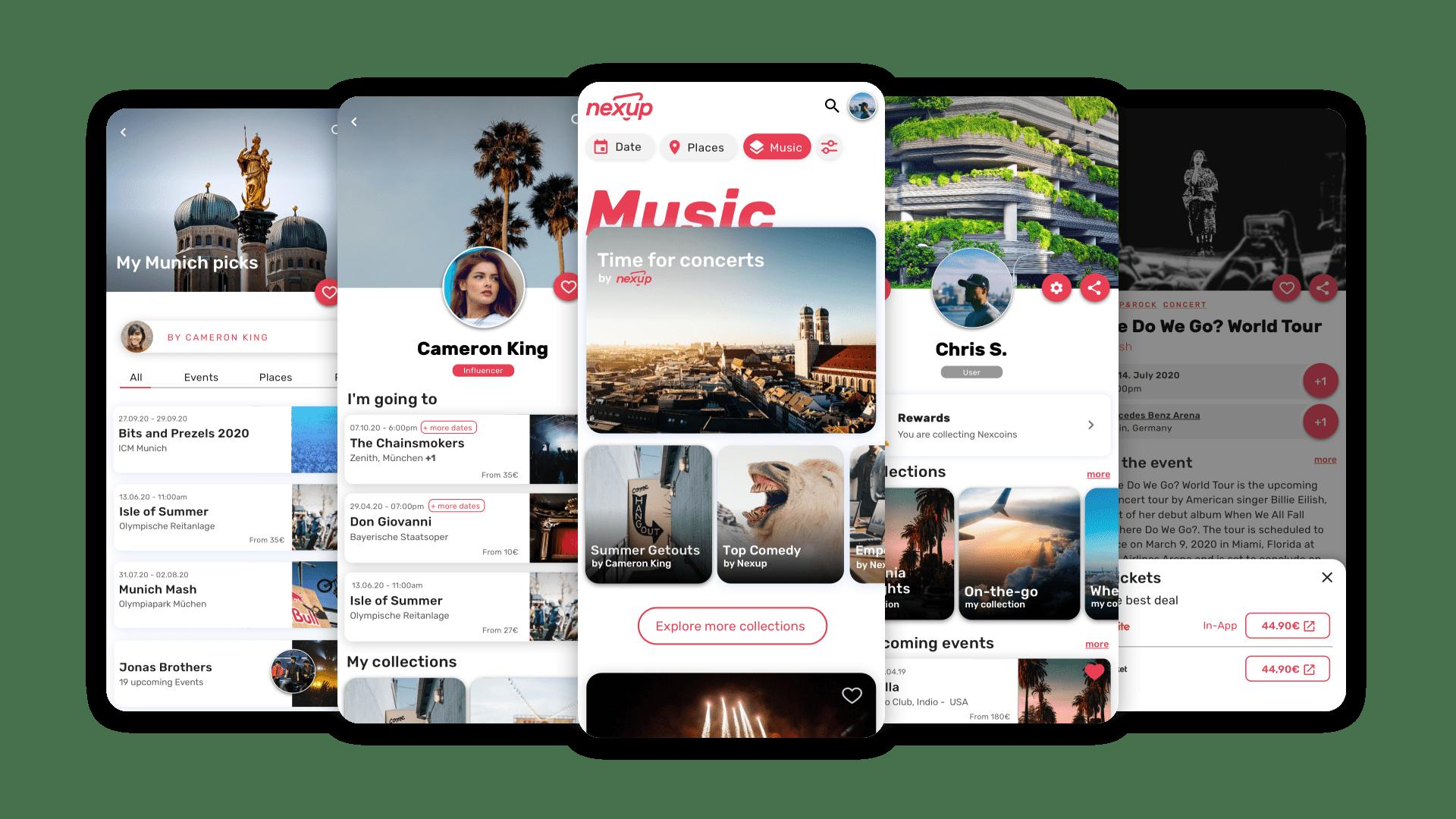 Nexup App